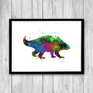Jurassic Animal Art Dinosaur Print - PrintsFinds