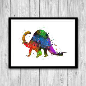 Jurassic Decor Dinosaur Art Print - PrintsFinds