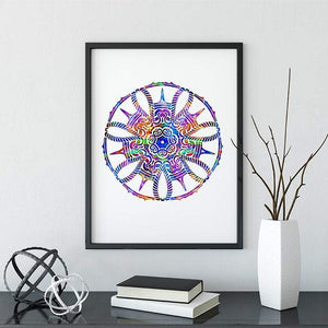 Mandala Watercolor Print IV - PrintsFinds