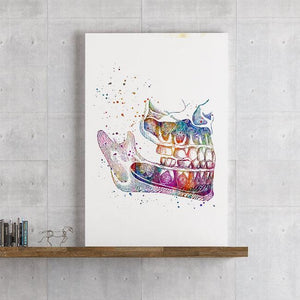 Orthognathic surgery, art print - PrintsFinds