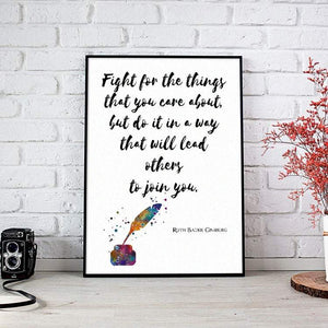 Quote Print Wall Art for Law Office Decor, New Attorney Graduation gift, Notary present - PrintsFinds