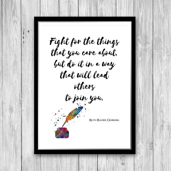 Quote Print Wall Art for Law Office Decor, New Attorney Graduation gift, Notary present