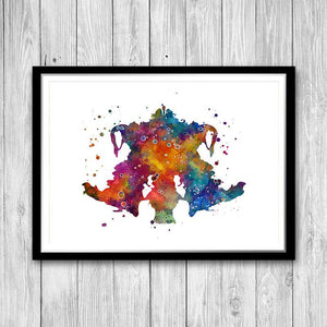 Rorschach art - PrintsFinds