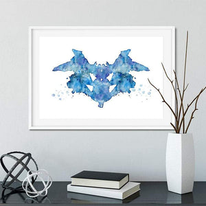 Set of 4 rorschach art prints - PrintsFinds