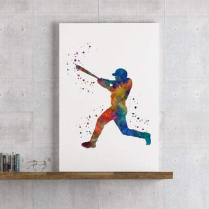 Set of 6 Sports Decor for boys room Watercolor art prints - PrintsFinds