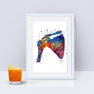 Shoulder Clavicle Scapula Joint Anatomy art print - PrintsFinds
