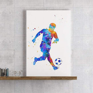 Soccer print for boys rooms - PrintsFinds