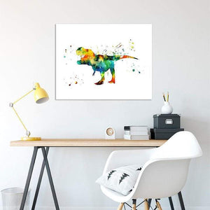 Tyrannosaurus Rex print, Animal art for kids room - PrintsFinds