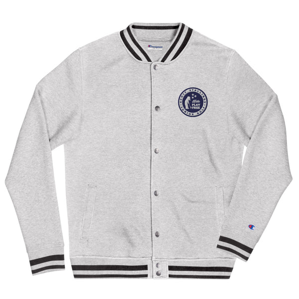 Kids Play Free Embroidered Champion Bomber Jacket