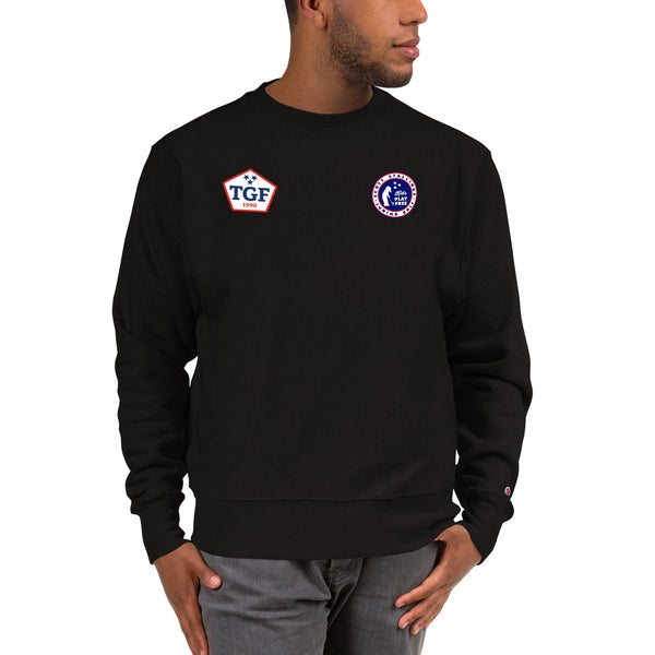 Champion Three Logo Sweatshirt