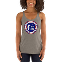 Women's Kids Play Free Racerback Tank
