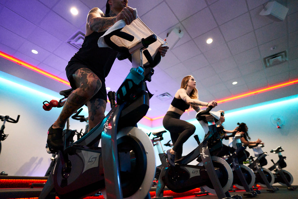 Shimano Indoor Cycling Class Fuel your Ride