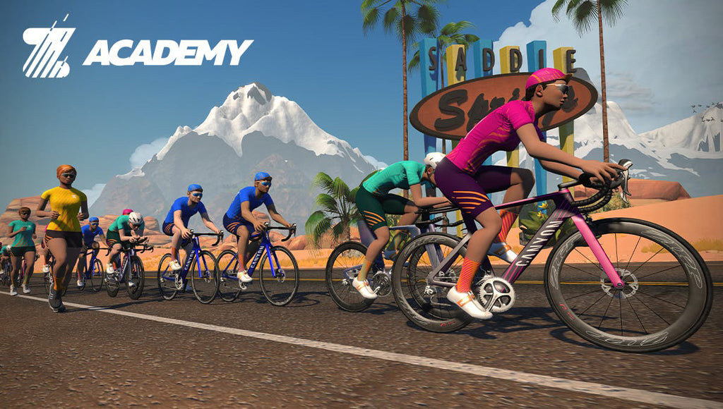 Indoor Cycling with Zwift online training