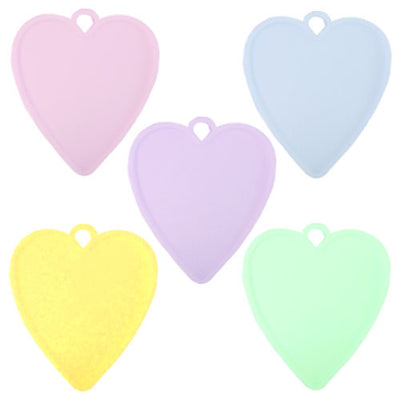 Pastel Heart Balloon Weights