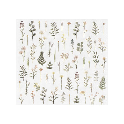 Ginger Ray Floral Napkins