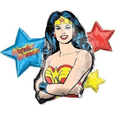 Wonder Woman Super Shape Foil Balloon