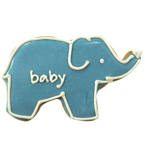Blue Elephant Cookie Cutter