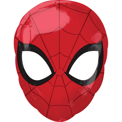 Spiderman head foil balloon