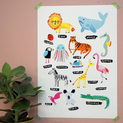 Eleanor Bowmer Animals Print
