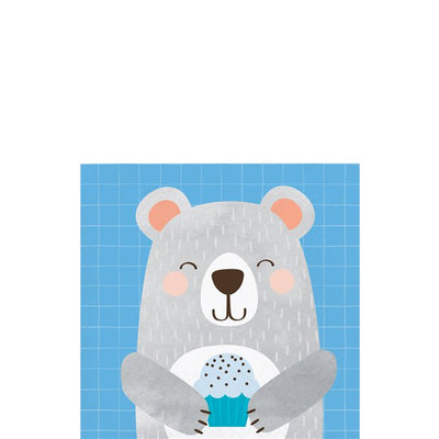 Birthday Bear Napkins