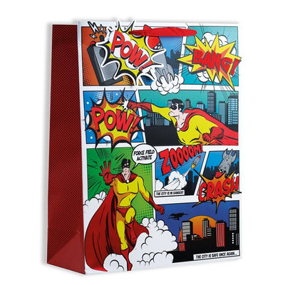 Comic Superhero Gift Bag