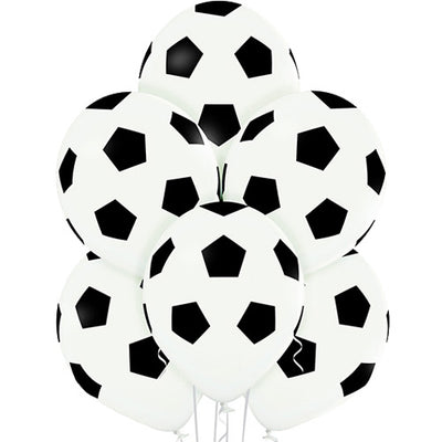 Football Print Latex Balloons