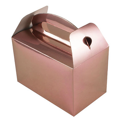 Rose Gold Party Boxes