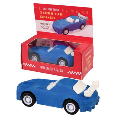 Blue Sports Car Eraser