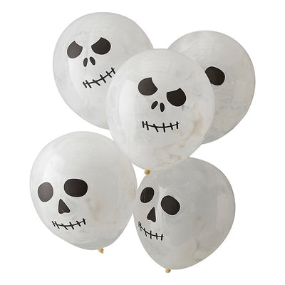 Skull Balloons By Ginger Ray