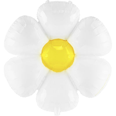 Daisy Flower Large Foil Balloon