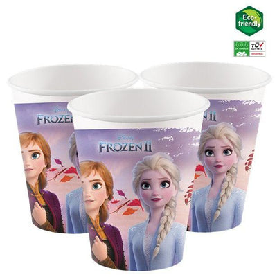Frozen 2 paper party cups - Eco Friendly Cups