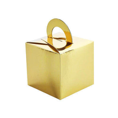 Gold Balloon Weight Boxes