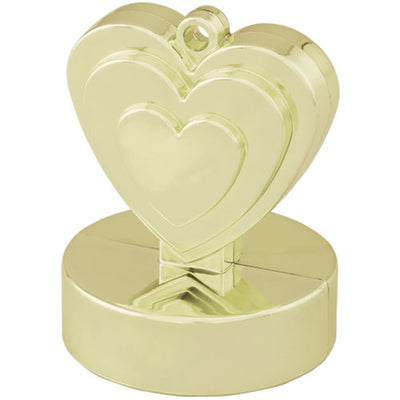 Gold Heart Weight