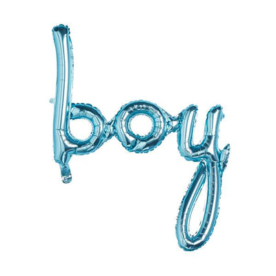 Blue Boy Script Balloon