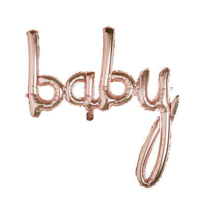Rose Gold Baby Shower Balloon