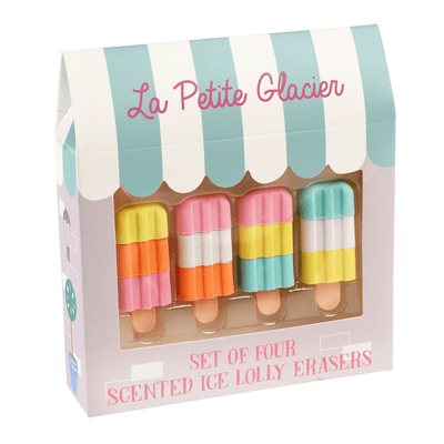 Scented Ice Lolly Rubbers
