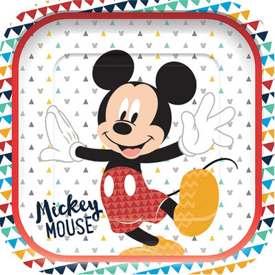 Mickey Mouse Party Paper PLates