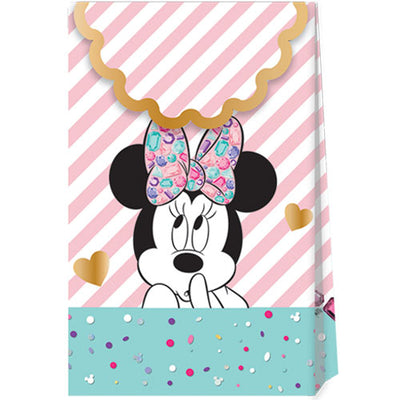 Minnie Mouse Paper Party Bags