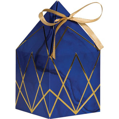 Gold and Navy Favour Boxes