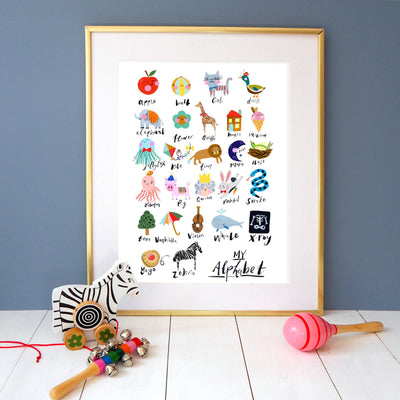 Eleanor Bowmer Alphabet Print