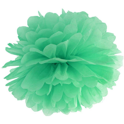 Mint party paper Pom Pom