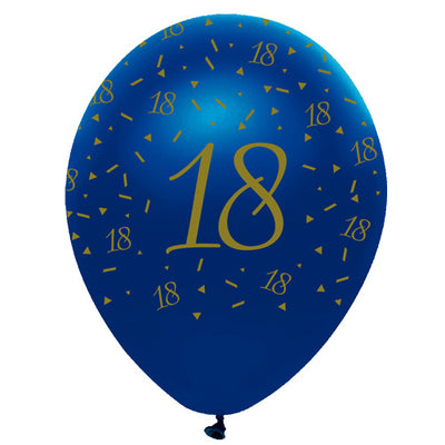 18th Birthday Latex ballons