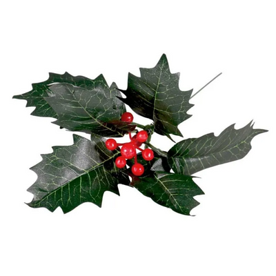 Artificial Holly and Berry