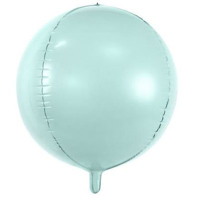 Party Deco Mint Foil Ball Balloon