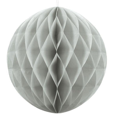 Grey Honeycomb Ball