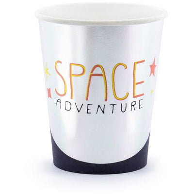 Space Adventure Paper Party Cups