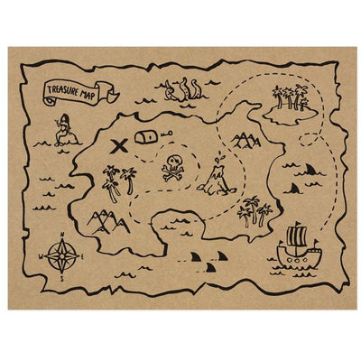 Pirates Paper Placemats Party Deco