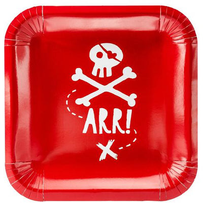 Pirate Party Paper Plates Party Deco