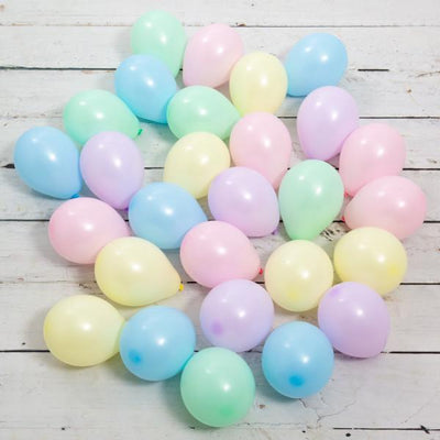 Bubblegum Balloons - Ice Cream Mini Balloons (Pk28) - icecrebal- The Original Party Bag Company