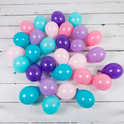 Bubblegum Balloons - Mermaid Mini Balloons (Pk28) - MRMD-MINB- The Original Party Bag Company